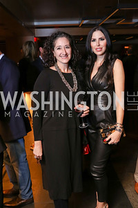 Dafna Tapiero, Amy Baier. Photo by Tony Powell. Nobu DC Opening Sake Ceremony. October 29, 2017