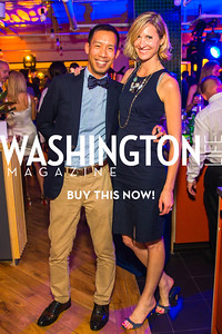 Ben Chang, Ashley Chang. Photo by Alfredo Flores. Our Voices - Uplifting Diversity in Media. WeWork White House. April 28, 2017