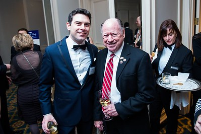 Mike von Klemperer, Ed Allard. PETA's Party for Animals at The Willard on January 19, 2017. Photo by Joy Asico.