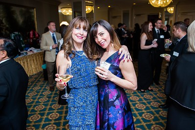 Laura Titus, Natalie Scannell. PETA's Party for Animals at The Willard on January 19, 2017. Photo by Joy Asico.