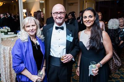 Olivia Byrne, Jeff Kerr, Tala Gardner. PETA's Party for Animals at The Willard on January 19, 2017. Photo by Joy Asico.