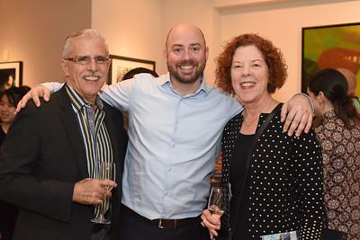 Rafael & Joanne Urrutia & Peter Fortner. November 9, 2017. Pakan Penn a Life in Motion. Amanda Warden.