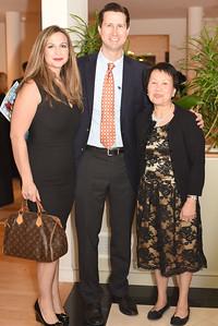Melissa Grannetino, Daniel Stern & Paula Penn. November 9, 2017. Pakan Penn a Life in Motion. Amanda Warden.