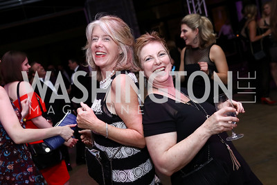 Alice Phillips Swistel, Cherie Nichols. Photo by Tony Powell. 2017 Phillips Collection Gala After Party. Union Market. May 19, 2017