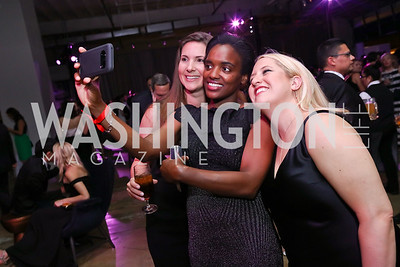 Kelly LeBrun, Jenna Reese, Abigail Diller. Photo by Tony Powell. 2017 Phillips Collection Gala After Party. Union Market. May 19, 2017