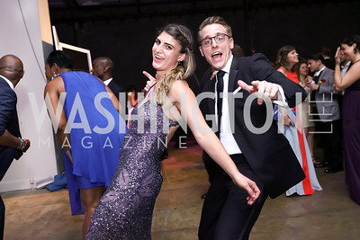 Layla Foster, Zack Foster. Photo by Tony Powell. 2017 Phillips Collection Gala After Party. Union Market. May 19, 2017