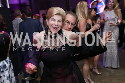 Nina Totenberg and David Reines. Photo by Tony Powell. 2017 Phillips Collection Gala After Party. Union Market. May 19, 2017