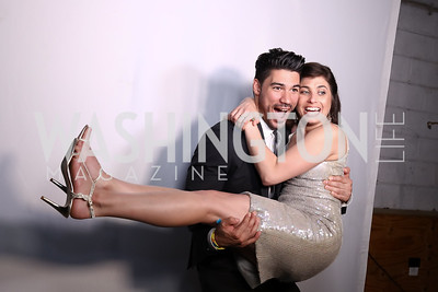 Chris Rodriguez, Joanna Roberts. Photo by Tony Powell. 2017 Phillips Collection Gala After Party. Union Market. May 19, 2017