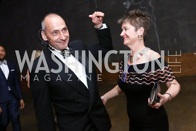 Thomas Krahenbuhl and Dorothy Kosinski. Photo by Tony Powell. 2017 Phillips Collection Gala After Party. Union Market. May 19, 2017