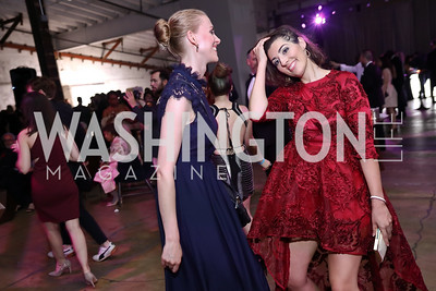 Anne-Louise Christensen, Kinga Dobolyi. Photo by Tony Powell. 2017 Phillips Collection Gala After Party. Union Market. May 19, 2017
