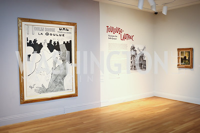 Photo by Tony Powell. Phillips Collection Toulouse-Lautrec Opening. January 31, 2017
