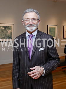 Joe Perta. Photo by Tony Powell. Phillips Collection Toulouse-Lautrec Opening. January 31, 2017