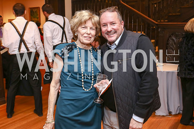 Bitsey Folger, Daren Thomas. Photo by Tony Powell. Phillips Collection Toulouse-Lautrec Opening. January 31, 2017