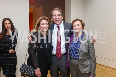 Judy and Peter Kovler, Marion Ein-Lewin. Photo by Tony Powell. Phillips Collection Toulouse-Lautrec Opening. January 31, 2017