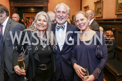 Barbara Hawthorn, Robert and Barbara Liotta. Photo by Tony Powell. Phillips Collection Toulouse-Lautrec Opening. January 31, 2017