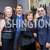 Carole Margaret Randolph, Salo Levinas, Annie Totah, Dani Levinas. Photo by Tony Powell. Phillips Collection Toulouse-Lautrec Opening. January 31, 2017