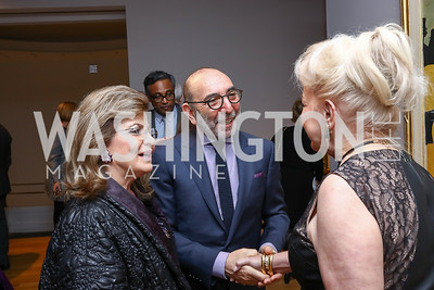 Annie Totah, Dani Levinas, Carole Margaret Randolph. Photo by Tony Powell. Phillips Collection Toulouse-Lautrec Opening. January 31, 2017