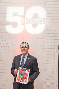 Congressman Darrell Issa, Politico 50 Celebration, Union Market Dock 5, October 12, 2017.  Photo by Ben Droz