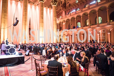 House Speaker Paul Ryan. Photo by Alfredo Flores. Radio and Television Correspondents' Association Dinner. National Building Museum. October 25, 2017.