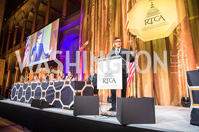 Bobby Bones . Photo by Alfredo Flores. Radio and Television Correspondents' Association Dinner. National Building Museum. October 25, 2017.