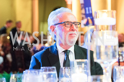 Wolf Blitzer . Photo by Alfredo Flores. Radio and Television Correspondents' Association Dinner. National Building Museum. October 25, 2017.