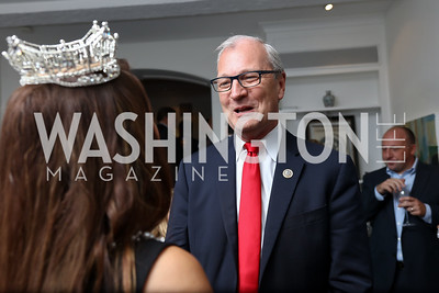 Rep. Kevin Cramer. Photo by Tony Powell. Reception Honoring Miss America 2018. September 27, 2017