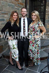 Kate Bennett, Hunter Schwarz, Betsy Klein. Photo by Tony Powell. Reception Honoring Miss America 2018. September 27, 2017