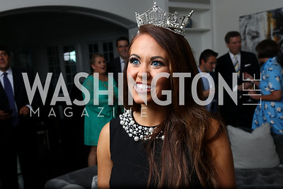 Miss America Cara Mund. Photo by Tony Powell. Reception Honoring Miss America 2018. September 27, 2017