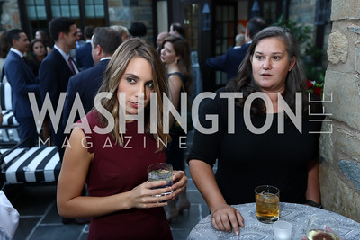 Lauren Fox, Rebekah Metzler. Photo by Tony Powell. Reception Honoring Miss America 2018. September 27, 2017