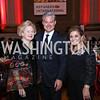 Beth Newburger Schwartz, Mark Lowham, Annie Totah. Photo by Tony Powell. RI 38th Anniversary Dinner. Mellon Auditorium. April 25, 2017