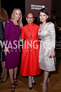 Cindy Jones, Rosalia Miller, JoAnn Mason. Photo by Tony Powell. RI 38th Anniversary Dinner. Mellon Auditorium. April 25, 2017
