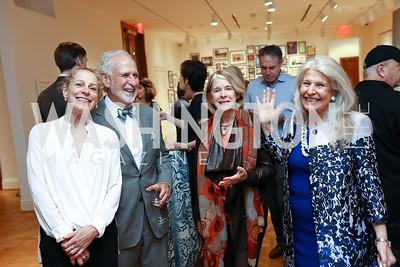 Barbara Liotta, Robert Liotta, Barbara Hawthorn. Photo by Tony Powell. Renoir & Friends. Phillips Collection. October 3, 2017