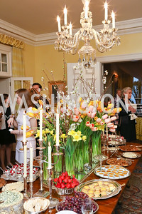 """Photo by Tony Powell. Sally Bedell Smith """"Prince Charles"""" Book Party. Carl Residence. April 8, 2017"""