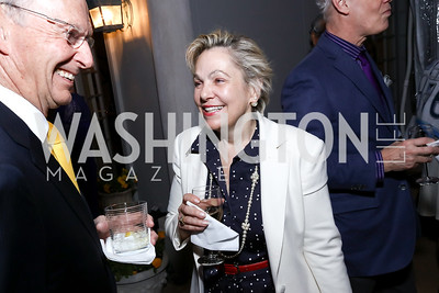 """Francesca Craig. Photo by Tony Powell. Sally Bedell Smith """"Prince Charles"""" Book Party. Carl Residence. April 8, 2017"""