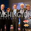 "Bob Nixon, Sylvia Earle, Brian Skerry, Max Kennedy, Richard Pyle. Photo by Tony Powell. ""Sea of Hope"" Premiere Screening. National Geographic. January 5, 2017"