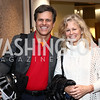 "Tim Shriver and Linda Potter. Photo by Tony Powell. ""Sea of Hope"" Premiere Screening. National Geographic. January 5, 2017"