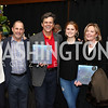 "Linda Potter, Michael Trager, Mark Shriver, Kathleen Shriver, Mariella Trager, Max Kennedy. Photo by Tony Powell. ""Sea of Hope"" Premiere Screening. National Geographic. January 5, 2017"