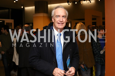 """Dirk Kempthorne. Photo by Tony Powell. """"Sea of Hope"""" Premiere Screening. National Geographic. January 5, 2017"""