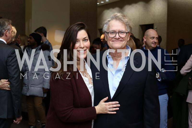 "Sarah and Bob Nixon. Photo by Tony Powell. ""Sea of Hope"" Premiere Screening. National Geographic. January 5, 2017"