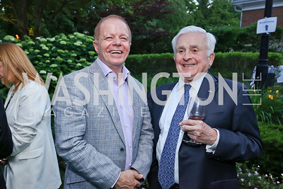 Botswana Amb. David Newman, Richard Klass. Photo by Tony Powell. Enchanted Garden. Mafi Residence. June 2, 2017