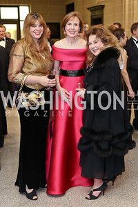 Lisa LaBonte, Anne Lantry, Oreet Zohar. Photo by Tony Powell. 2017 Sister Cities Inaugural Gala. OAS. January 17, 2017