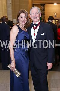 Barbara and Michael Lawler. Photo by Tony Powell. 2017 Sister Cities Inaugural Gala. OAS. January 17, 2017