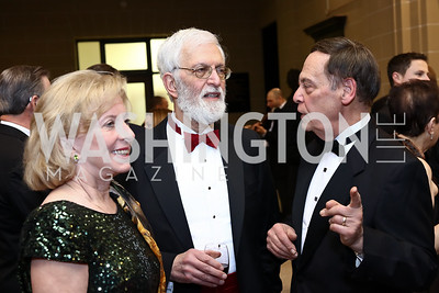 Alan Schlaifer, Marya Pickering, Jerome Barry. Photo by Tony Powell. 2017 Sister Cities Inaugural Gala. OAS. January 17, 2017