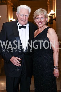 Former Rep. Jim Moran, Sister Cities International President Mary Kane. Photo by Tony Powell. 2017 Sister Cities Inaugural Gala. OAS. January 17, 2017