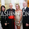 Anna Trone, Donald Wuerl, Archbishop of Washington Cardinal Donald Wuerl, April Delaney, Robert Trone. Photo by Tony Powell. Spanish Catholic Center 50th Anniversary. Marriott Marquis. September 30, 2017