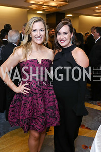Alexandra Schauffler, Katie Atmonavage. Photo by Tony Powell. Spanish Catholic Center 50th Anniversary. Marriott Marquis. September 30, 2017