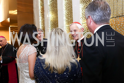 Archbishop of Washington Cardinal Donald Wuerl. Photo by Tony Powell. Spanish Catholic Center 50th Anniversary. Marriott Marquis. September 30, 2017