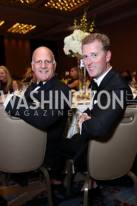 Dave Dorros, Tripp Donnelly. Photo by Tony Powell. Spanish Catholic Center 50th Anniversary. Marriott Marquis. September 30, 2017
