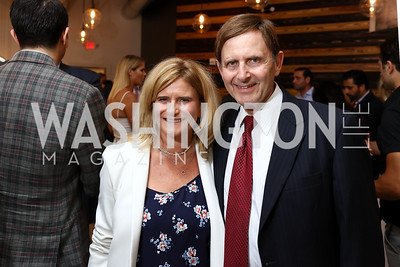 Melissa Mayfield, Cary Pollak. Photo by Tony Powell. Sushi Gayku Opening. June 26, 2017