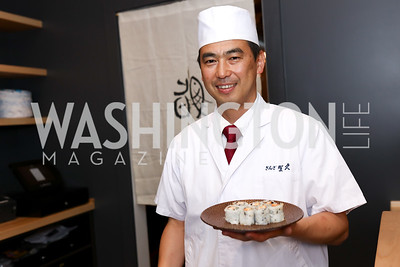 Chef Yoshi Ota. Photo by Tony Powell. Sushi Gayku Opening. June 26, 2017